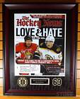 Brad Marchand Boston Bruins Signed Autographed Hockey News Cover 16x20 Framed