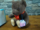 vintage trudy mohair teddy bear 1950's mint in box! buy the best!