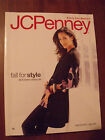 Vintage JCPenney Penneys Fall Winter 2008  Department Store Catalog