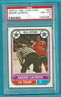 1975-76 OPC WHA 64 Andre Lacroix AS1 PSA 8 NM-MT ONLY 8 PSA HIGHER! RARE!