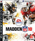 Madden NFL 10  (Sony Playstation 3, 2009) DISC ONLY
