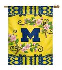 NCAA Michigan Wolverines Polyester Indoor Outdoor House Flag Banner 27x37 Inch