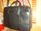 NWT COACH MENS BLACK Heritage HPC Metropolitan Tote Briefcase Business 70936