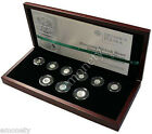 2009 Miniatures of the Polish circulation Nine SILVER Coins Zloty + FREE GIFT