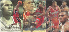 1996-97 Flair Showcase Jerry Stackhouse Glossy 3 Card Perforated Panel