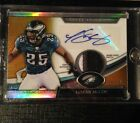 2011 Topps Platinum LeSean McCoy Auto Game Used Patch #8 10 Gold Refractor