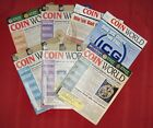 7 COIN WORLD MAGAZINES 2007-2008