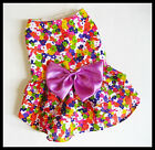 Summer Spring Costume Dog Chihuahua Rabbit Dress Accessory Clothes Pet Size 1