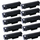 10PK Q2612A  Compatible Toner Cartridge For HP LaserJet 1022 1015 1018 1020