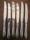 LOT of 6 DINNER KNIVES! Vintage ROGERS - ONEIDA PRESENTATION pattern: EXCELLENT!