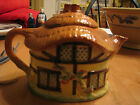 Vintage Cottage Teapot - Burlington Ware