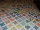 Cathedral Window 1930 Reproduction fabric PreCut Quilt Kit 24 different fabrics