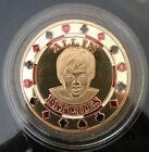 1 oz All In Bitches Playing Card Poker Chip Token .999 24k gold bullion Coin