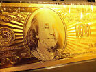 24 KARAT UNITED STATES 100 DOLLAR - COLLECTIBLE NOTE ,COMES IN HARD SLAB HOLDER