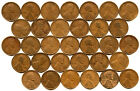 32-COIN EARLY DATE LINCOLN WHEAT CENT LOT-BETTER DATES
