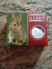 Rabbit 1 Oz Silver Proof Perth Mint series 11 Coin W/packaging & COA-Beautiful