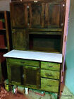 Antique Primitive SELLERS Indiana Hooser Style Kitchen Cabinet - 1900's-1920's