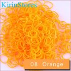 Rubber Bands 600 Pcs 24 Clip Refill Bands For Loom Bracelet Rainbow Colour