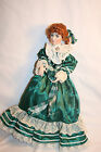 Colleen Doll Irish Memories Collection by Linda Hanson, built in Music box