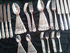 60 pieces set for 12 people table pastry French Silverplated 12 knives MINT