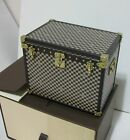 RARE !! Louis Vuitton Objet of Damier 1895 trunk , novelty for VIP from Japan