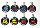 Mattel Hot Wheels Red Line badge pins button lot of 8 1960's