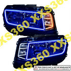 ORACLE for Chevy Camaro 14 15 BLUE Headlight + AMBER Turn Signal Halo Kit