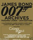 2x 2014 James Bond Archives Factory Sealed Box of Trading cards - PRE-SELL