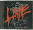 The Almighty - Blood Fire Live - '90 cd Zodiac MindWarp The Cult Hard Rock OOP