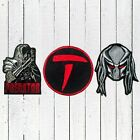 Set Predator Embroidered Patches Head Helmet Logo Weapon Claw AVP Alien Dutch