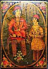Qajar Dynasty Authentic Persian Empire AsNas Rare Historic Artisan Playing Card