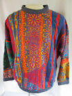 Vintage COOGI MULTICOLOR Aboriginal Infulence Pullover SWEATER Size Medium