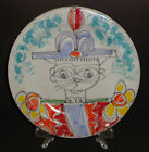 VINTAGE DESIMONE POTTERY CHARGER PLATE HAND PAINTED SOLDIER SIGNED ITALY 10