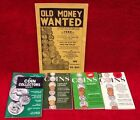 Vintage 1960's COIN VALUE PRICES Collector/Dealer Guide GOLD Dell Purse Book LOT