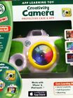 Leap Frog App Learning Toy Creativity Camera White And Green. Ages 3/6 Years