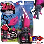 The Zelfs WEBINA ZELF Spider NIB Series 3 RARE Medium HARD TO FIND Black Pink