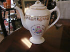 Stetson China American Beauty Vintage Teapot with Lid  22k gold