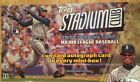 2014 Topps Stadium Club Baseball Hobby 12 Box Case