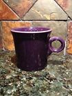 Fiesta PLUM Dark Purple  MUG Coffee Cup Tom Jerry Fiestaware Retired