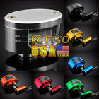 For ZX10R 12R 14R ZX636R/ZX6RR 7 Color Brake Tank Oil Fluid Resevoir Universal