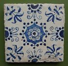 EARLY 17th Century DUTCH DELFT TILE ORNAMENTAL