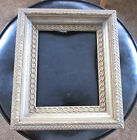 Antique Architectural Gesso Wooden Triple Ornate Gold for Mirror Picture Frame