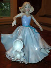 ROYAL DOULTON FIGURINE Pretty Young Lady Girl Dancing Ivy-hair, Blue Ribbon 10