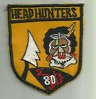 1970s-80s USAF 80th TAC FIGHTER SQUADRON Korean handmade patch @ Kunsan