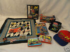 Jeff Gordon Lot 1:32 Scale NASCAR Hat Action Playing Cards Bandanna Pin X-mas