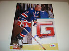Mark Messier Signed 8x10 Photo PSA DNA New York Rangers Autographed 1A