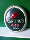 VINTAGE CARLINGS RED CAP ALE BEER BAR SIGN