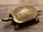 Brass Turtle Container Vintage