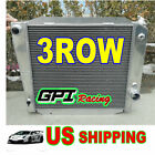 3 ROW ALUMINUM RACING RADIATOR 66 77 FORD BRONCO WAGON ROADSTER 50L 302 V8