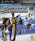 Sports Champions  (Sony Playstation 3 Move, 2010) Complete
